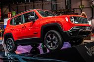Jeep Renegade Geneva 2019 - front