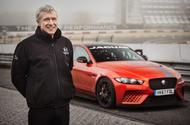 Mark Stanton with Jaguar XE SV Project 8