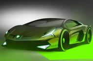 Lambo Hybrid render 2021 final