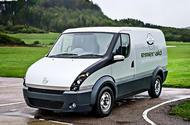 Extended-range electric van