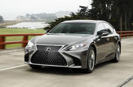 Lexus LS 500h F Sport review