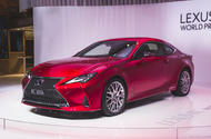 Facelifted Lexus RC unveiled at Paris motor show