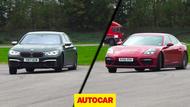 BMW M760Li vs Porsche Panamera Turbo