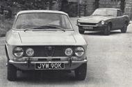 Alfa Romeo 2000 GTV and Datsun 240Z
