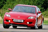 Mazda RX-8 en virage