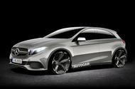Mercedes-AMG A45 Autocar rendering