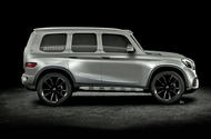 2019 Mercedes GLB imagined by Autocar
