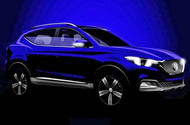 MG images reveal new small SUV