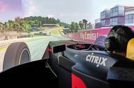 Virtual insanity: Driving Aston Martin's Valkyrie simulator