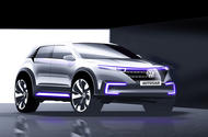 Volkswagen electric vehicle as imagined by autocar