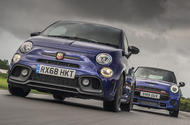 Mini JCW vs Abarth 595
