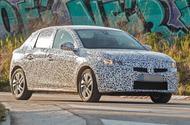 2020 Vauxhall Corsa spy shots