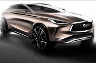 Infiniti QX50 concept will reach production with a new petrol engine