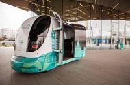 Autonomous shuttle bus Greenwich