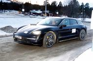 Porsche Taycan Cross Turismo front side
