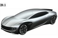 Autonomous Volkswagen coupe shown in new patent images