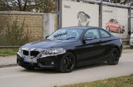 2017 BMW 2 Series spotted testing