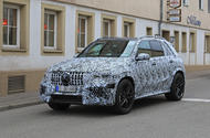 2018 Mercedes-Benz GLE: new pictures of 603bhp GLE 63