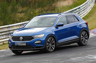 Volkswagen T-Roc R: 306bhp hot SUV caught testing at the Nurburgring