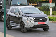 2017 Ford Ecosport spotted in ST-Line form ahead of September launch