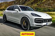 Porsche Cayenne Autocar video