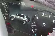 2020 Land Rover Defender dashboard image
