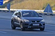 Seat Ateca Cupra - 300bhp SUV spotted testing