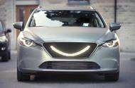 The autonomous car that smiles at pedestrians