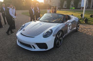 Drop-top Porsche 911 Speedster concept bows in at Goodwood