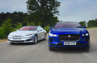 Tesla Model S vs Jaguar I-Pace