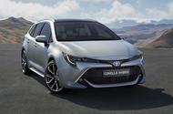 Toyota Corolla Touring Sports front three-quarter