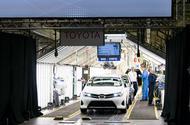 Toyota Auris at the Burnaston plant