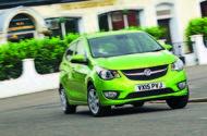 Vauxhall Viva cornering - front