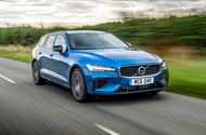 Volvo V60 T8 TwinEngine 2019 UK first drive review - on the road front
