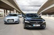 Audi A6 vs Lexus GS vs Mercedes-Benz E-Class vs Volvo S90 - executive car group test