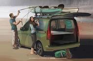 VW Caddy Beach  side