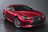 Facelifted Lexus RC to appear at Paris