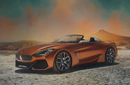 BMW Z4 concept leaks ahead of Pebble Beach reveal