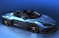 Italdesign Zerouno convertible to be displayed at Geneva motor show