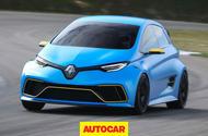 Renault Zoe e-sport Autocar video