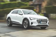 Audi E-tron 2019 long-term review - hero front