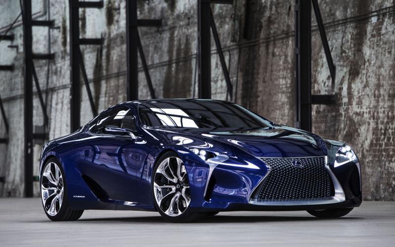 Lexus LFA replacement previewed