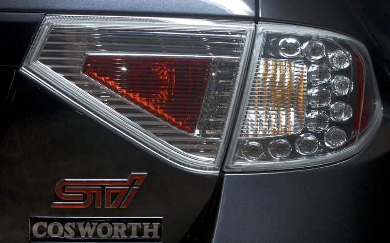 Cosworth tunes Impreza STI