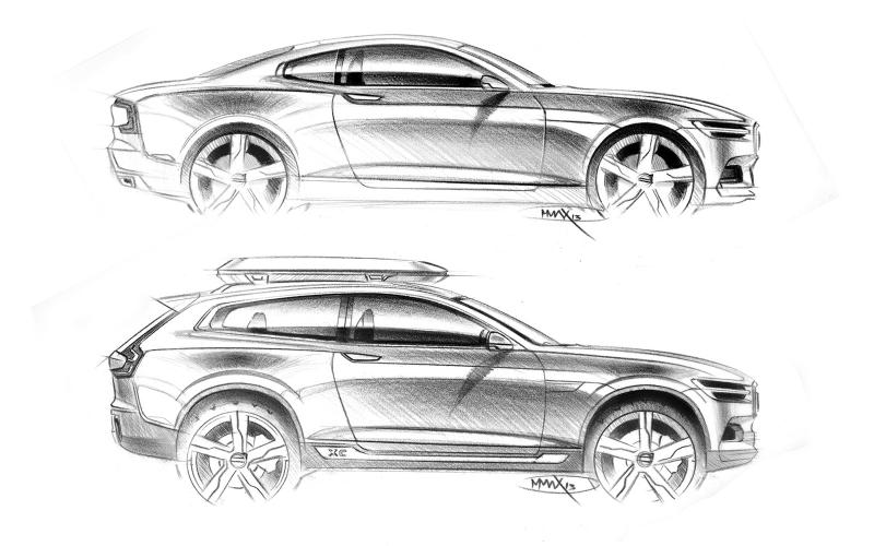 All-new Volvo XC90 look revealed by Concept XC Coupé