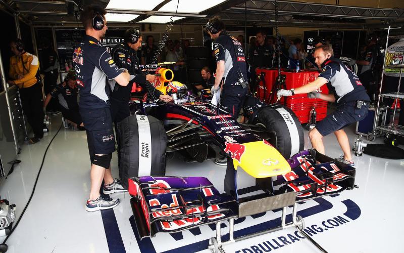 Eavesdropping on Red Bull Racing's British GP qualifying bid