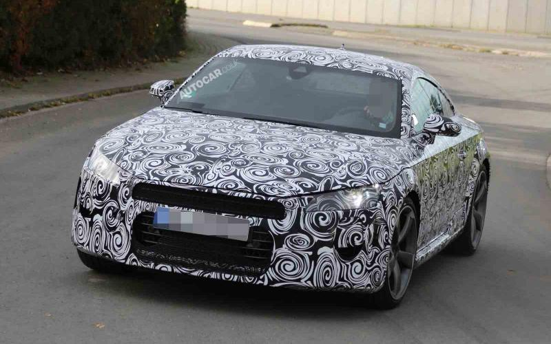 2015 Audi TT - first pictures