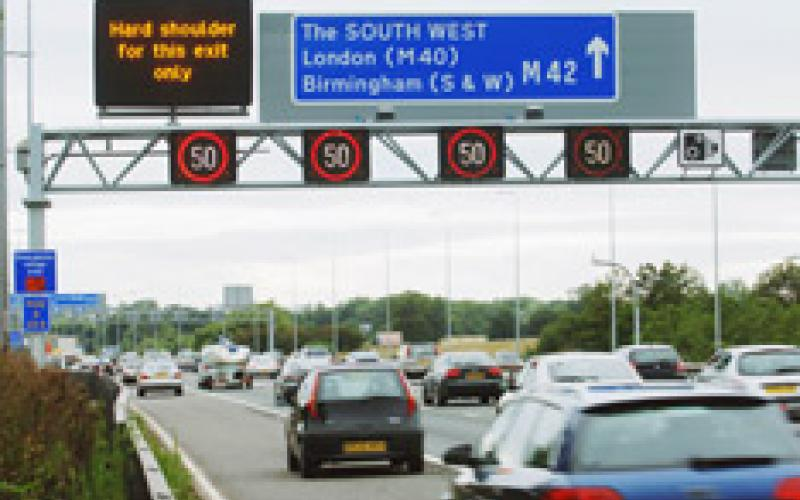 the relationship between road safety and congestion on motorways