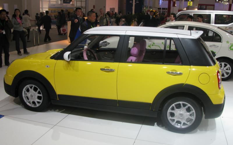 No, it's not a Mini...