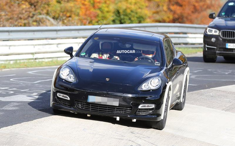 Porsche tests next-generation Bentley platform