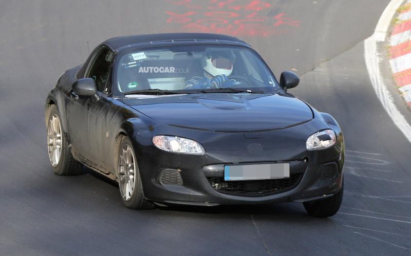 2015 Mazda MX-5 spotted